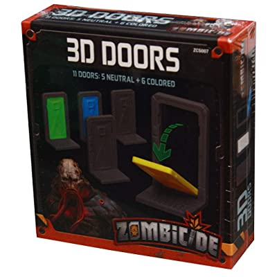 Zombicide: Invader: 3D Doors: Toys & Games