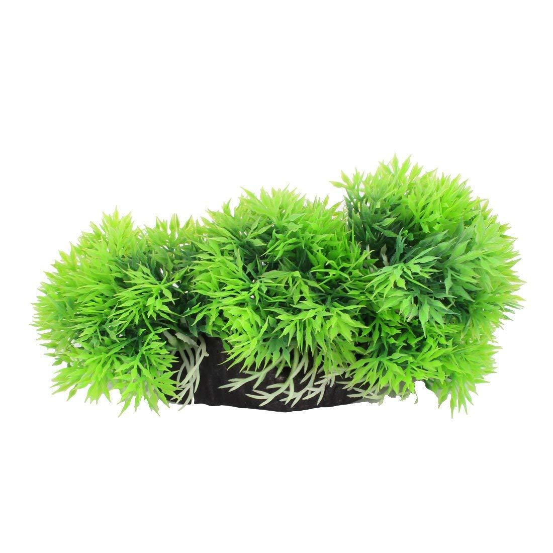 1Pc Plastic Aquarium Fishbowl Simulation Water Plant Flower Grass Ornament