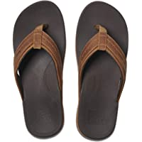 REEF Leather Ortho-Spring Flip-Flop
