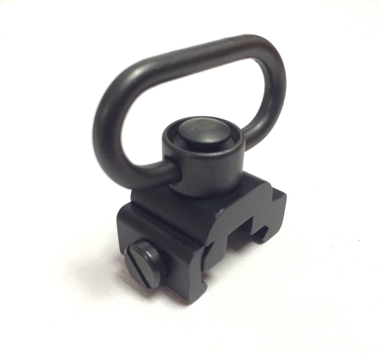 Gun Swivels Quick Detach Sling Swivel Heavy Duty Flush Push Button Mount 20mm eForCrazy