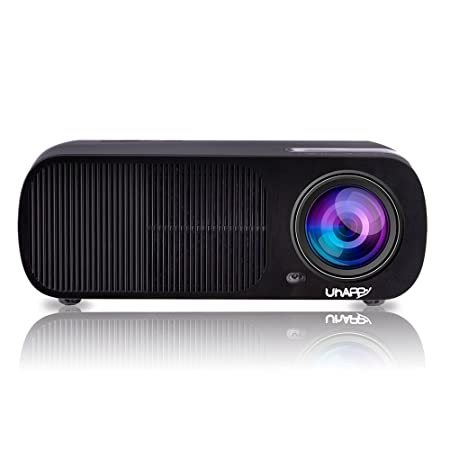 Yncc Mini Proyector de Home Cinema Multimedia LED HD 1080P HDMI ...