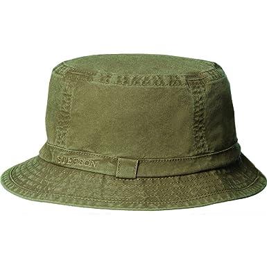 Stetson Men s Gander Organic Cotton Bucket Hat at Amazon Women s ... 09c255659a5