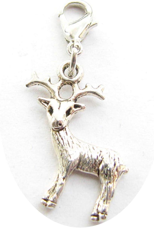 Deer Clip On CharmDeer...