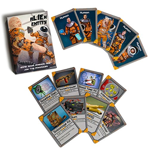 (Alien Entity the Chaotic Cooperative Strategy Card Game of Space Paranoia by Braine Games)