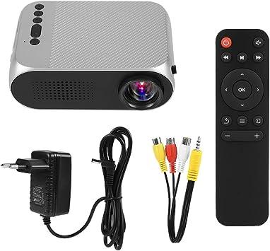 Zerone HD Proyector portátil Tarjeta USB/TF/AV de Entrada 1080P ...