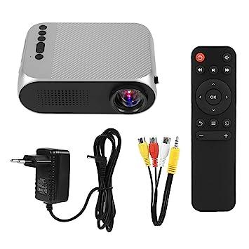 Zerone HD Proyector portátil Tarjeta USB/TF/AV de Entrada 1080P Media Player LED Proyector de Cine en casa