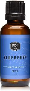 P&J Trading Blueberry Premium Grade Fragrance Oil - Perfume Oil - 30ml/1oz