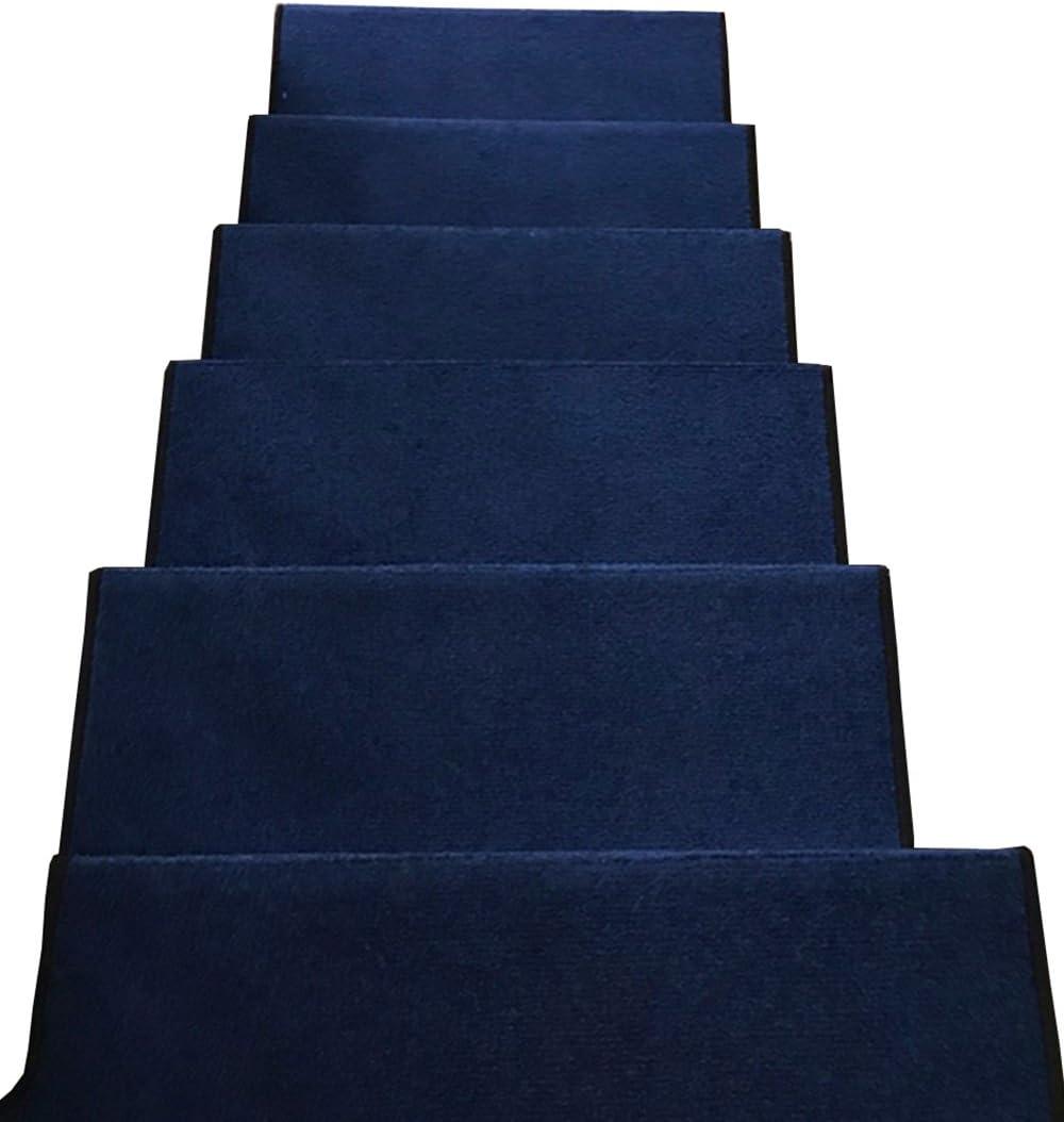 ZENGAI Velcro Fondo Escalera Alfombra Paso Pad (Set De 5 Esteras) para Escaleras De Cemento/Hierro (Color : 1#-5 Pieces, Size : 65x(24+3) cm): Amazon.es: Hogar