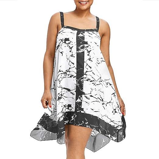 53e09c487273 Redacel Fashion Women Plus Size Ink Tie Dyeing Printed Sleeveless ...