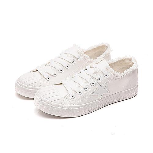Fanessy - Zapatillas de Deporte de Lona Mujer: Amazon.es: Zapatos y complementos