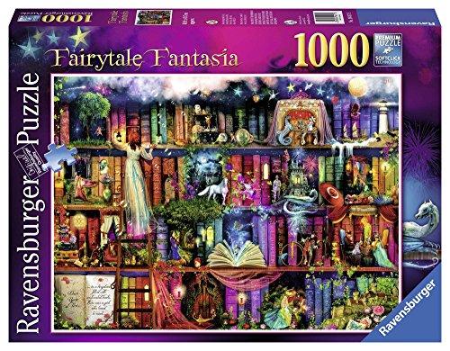 Ravensburger Fairytale Fantasia (1000 Pieces) - Fairy Tale Jigsaw Puzzle Book