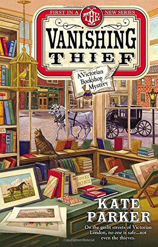 The Vanishing Thief (A Victorian Bookshop Mystery)