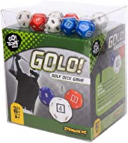 GOLO Golf Dice Game | For Golfers, Families, and Kids | Portable Fun Game for Home, Travel, Camping, Vacation, Beach | Award