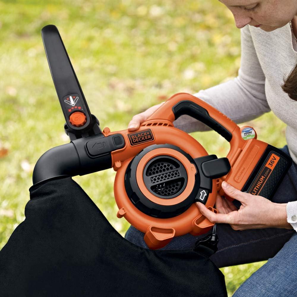 Black+Decker GWC3600L20-GB - 36V Soplador Aspirador: Amazon.es: Bricolaje y herramientas