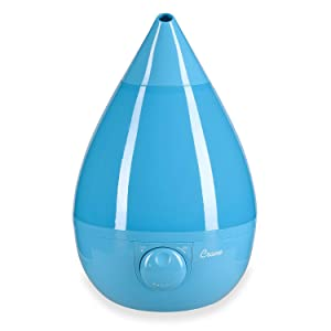 Crane Humidifier, Ultrasonic Cool Mist Humidifiers, Filter-Free, 1 Gallon, for Home Bedroom Baby Nursery and Office, Aqua