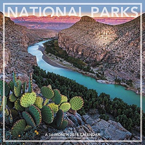 Park Calendar (National Parks Wall Calendar (2018))