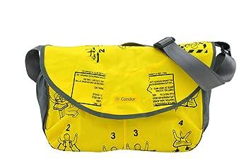 e174a7cf98596 BAG TO LIFE CONDOR Sporttasche Messenger Bag Umhängetasche Freizeittasche  UNIKAT Upcycling aus einer Rettungsweste