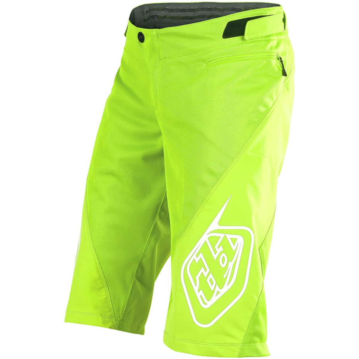Troy Lee Designs Sprint Solid Youth Off-Road BMX Cycling Shorts - Flo Yellow / 28 by Troy Lee Designs