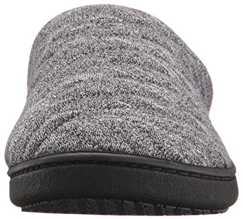4a16741621df63 ISOTONER Women's Space Knit Andrea Clog Slippers, Black Small/ 6.5-7  Standard US