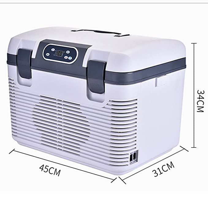 Kompressor K/ühlbox Gefrierbox mit 12//24//220 Volt Anschluss f/ür PKW und LKW Auto K/ühlbox Kapazit/ät 12L
