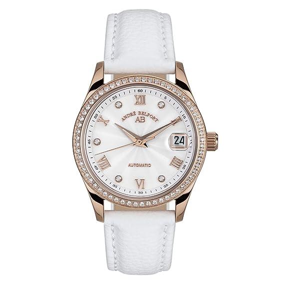 André Belfort 410212 - Reloj para mujeres, correa de cuero: Amazon.es: Relojes