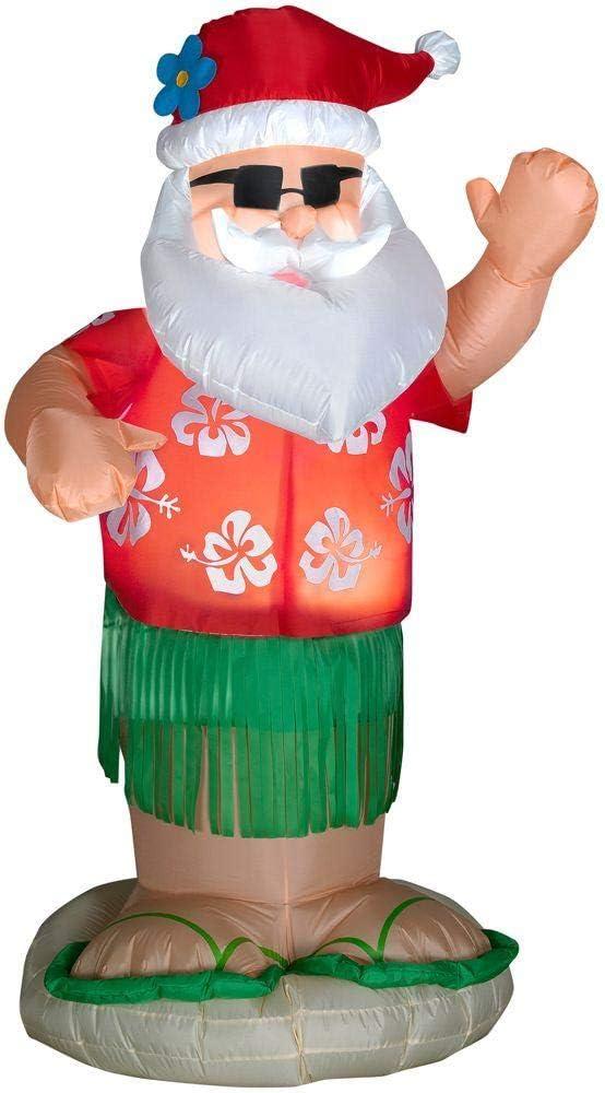 Amazon.com: Home Accents - Hula de Papá Noel con diseño de ...