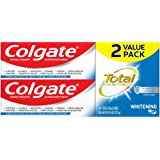 Colgate Total Whitening Toothpaste Gel, 4.8 ounce - 2 pack