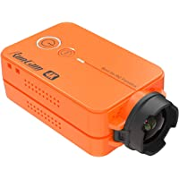 RunCam 2 4K Edition FPV Sports Action Camera 49g WiFi Supported Ultra HD MP4 Camcorder Adjustable FOV, Orange
