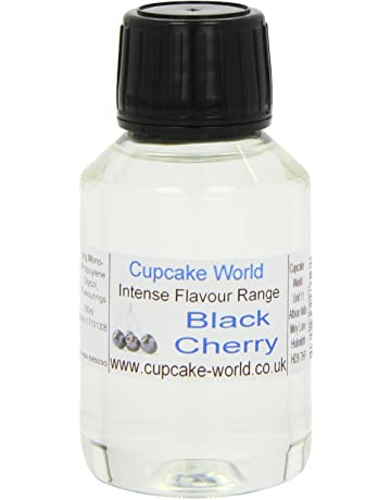 Cupcake World Aromas Alimentarios Intenso Cerezo Negro - 100 ml
