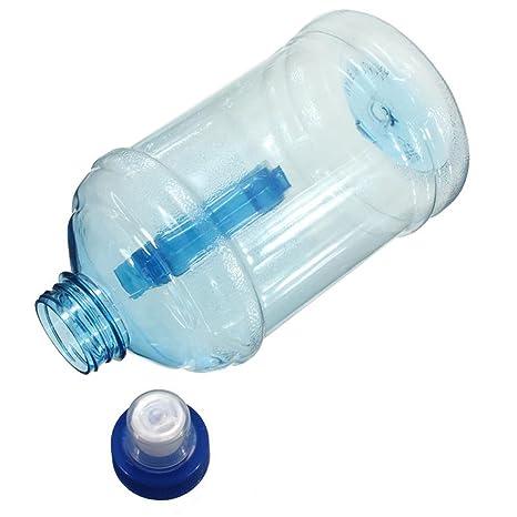 Botella de agua de plástico para deportes al aire libre, sin BPA,