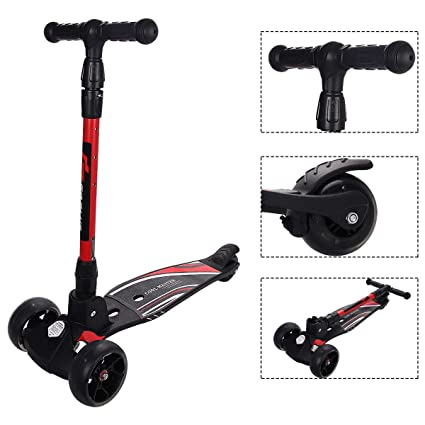 Amazon.com: WenstsKufan Patinetes de altura ajustable ...