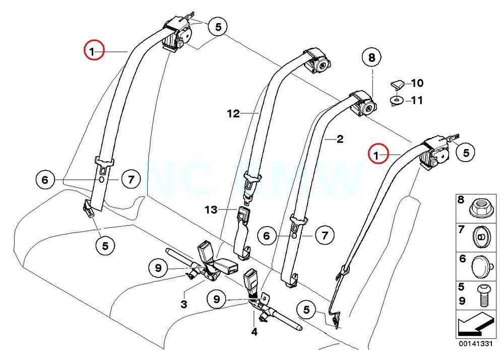 Bmw 740il Serpentine Belt Diagram