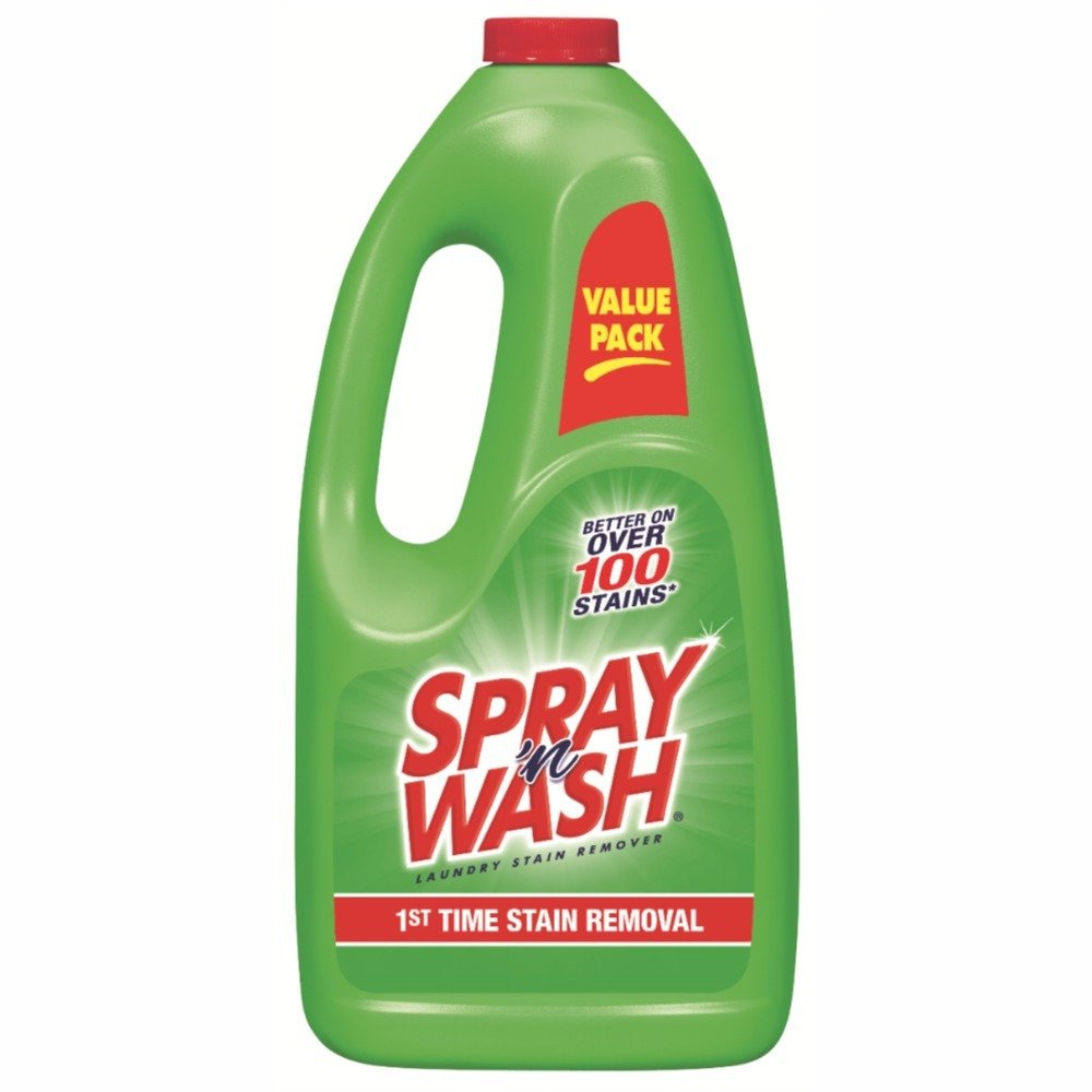 Spray 'n Wash Pre-Treat Laundry Stain Remover Refill, 60 fl oz Bottle (Pack of 12)