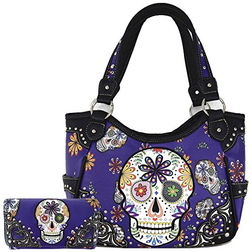 Sugar Skull Day Dead Purses...