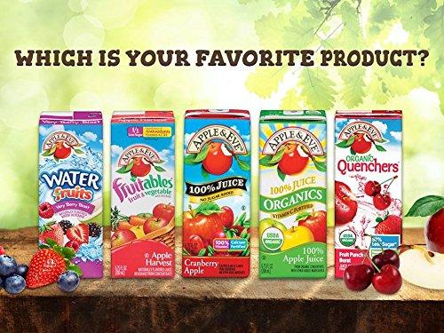 Apple & Eve Organics Juice, Grape, 200-ml, 3 Count, Pack of 9
