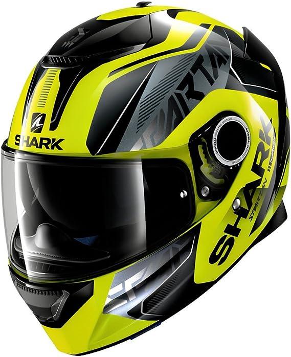 Shark Casco para moto Hark Spartan Blank color negro tama/ño L