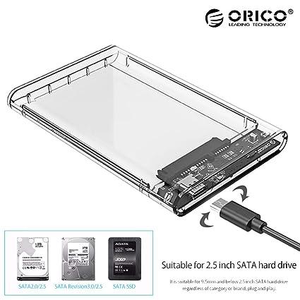LFR2 - Carcasa Transparente para Disco Duro SATA a USB 3.0 ...
