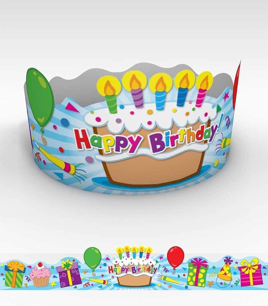 Amazon.com: Carson Dellosa Coronas de Cumpleaños (Renovado ...
