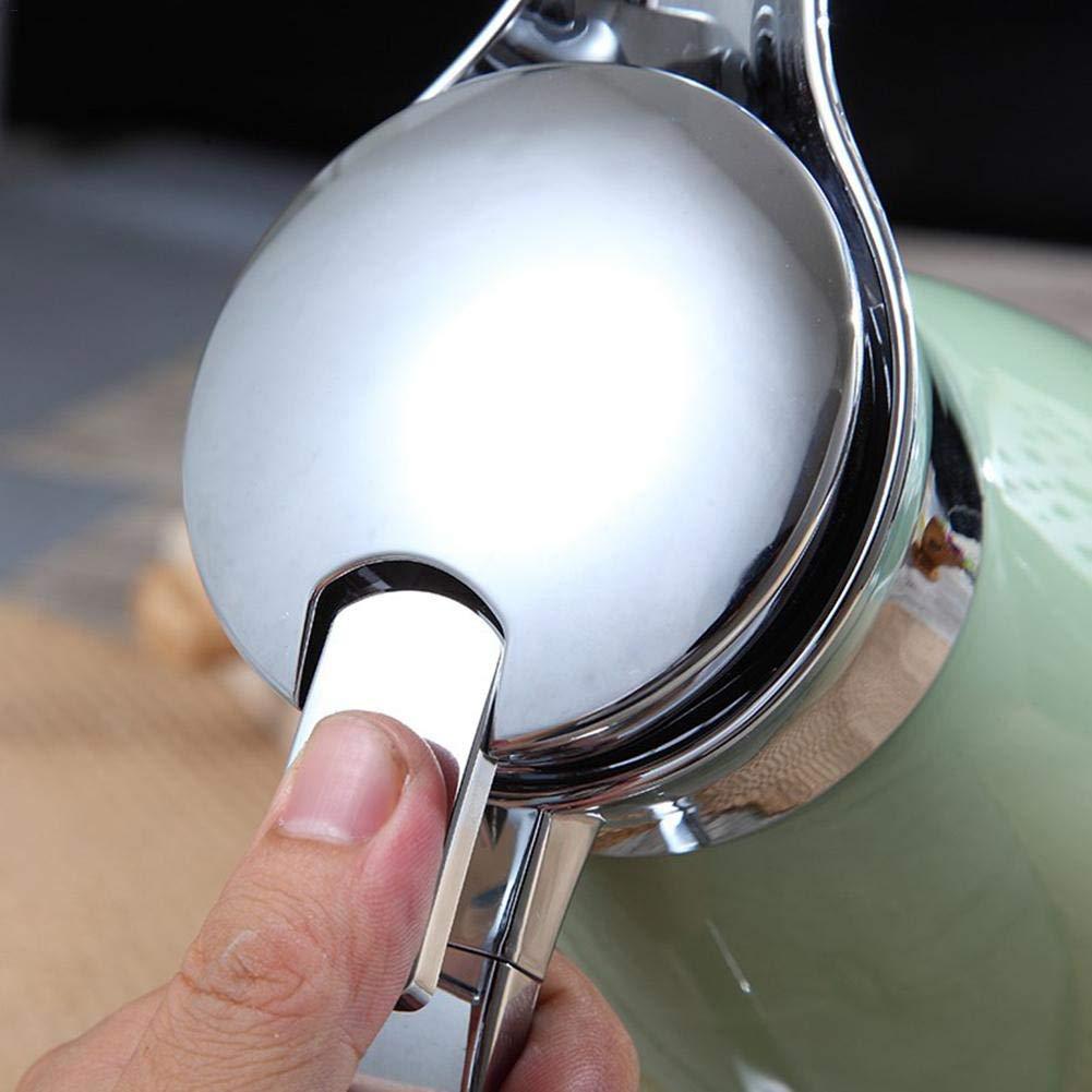 Rinalay Thermos En Acier Inoxydable Th/éi/ère Double Paroi Vide Flacon Sous Vide Mode de Vie Cafeti/ère 2L Pot /À Caf/é M/énage Thermos Jus Lait Th/é Th/é Isolant Pot Color : Gr/ün, Size : Size