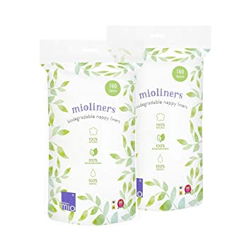 Bambino Mio mioliners diaper liners 2 pack
