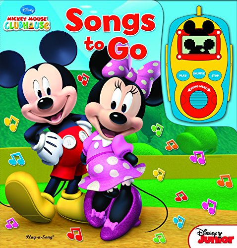 Disney Mickey and Minnie Digital Music Player Board Book Songs to Go 9781412788489