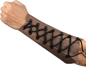 ArcheryMax Handmade Leather Arm Guard Bow Hand Shooting Arm Guard