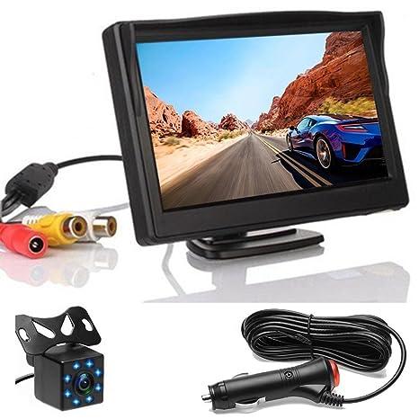 Amazon.com: Podofo Backup Camera System for Car Quick Installation on