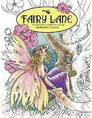 Fairy Lane: Enchanting Fairies to Color