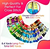 Hand Embroidery Floss Cross Stitch Threads
