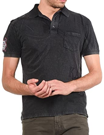 Kaporal Jeans - Kaporal Polo Sobo Dark Grey: Amazon.es: Ropa y ...