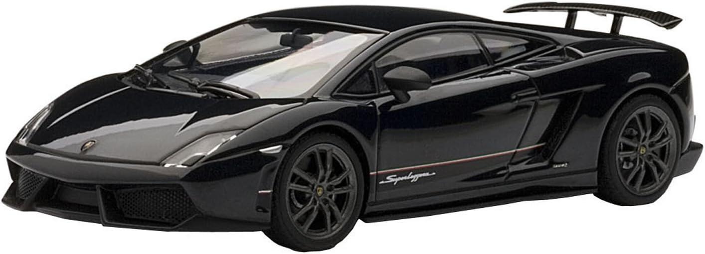 /Echelle 1: 43 /Fahrzeug Miniatur/ /Schwarz/ AUTOart/ /4/Superleggera/ /Lamborghini Gallardo LP570/ /54642/