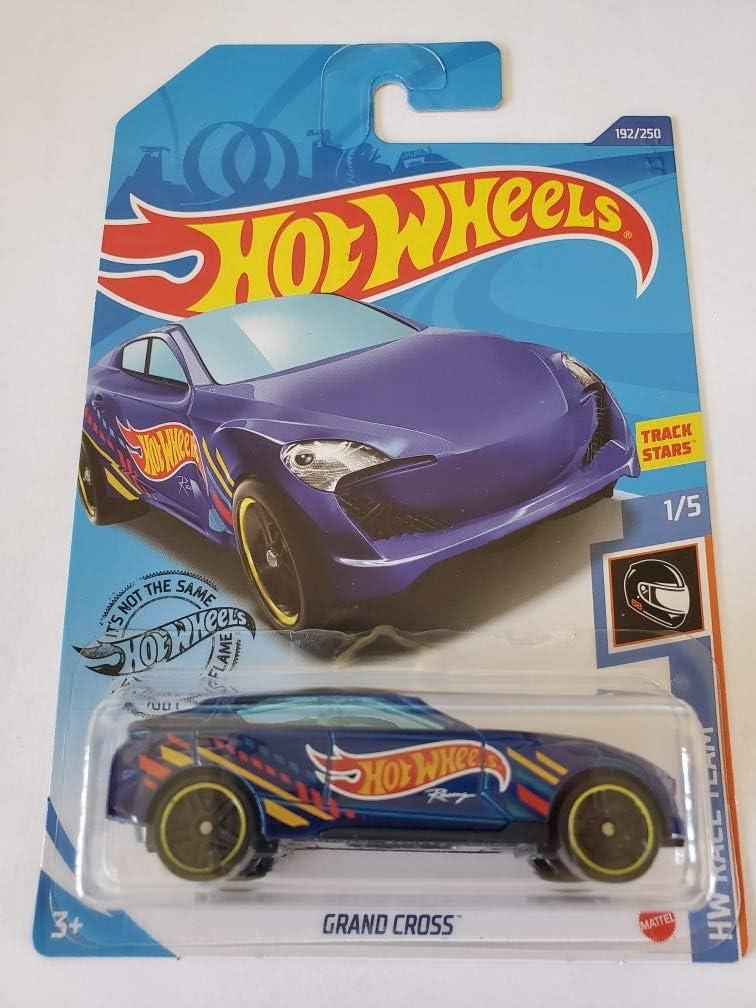 Hot Wheels 2020 Hw Race Day Grand Cross Blue 192//250