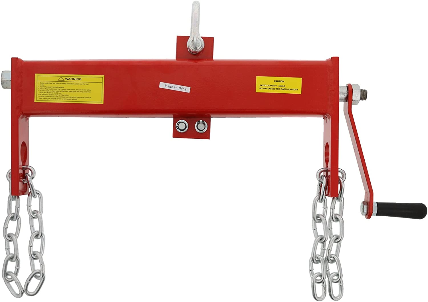 Engine Leveller for Shop Crane Winch Hoist Lifter hfghsgjbgd 2000lbs Car Engine Load Leveller Adjustable Professional Crane Hoist Lift Load Leveller with Handle