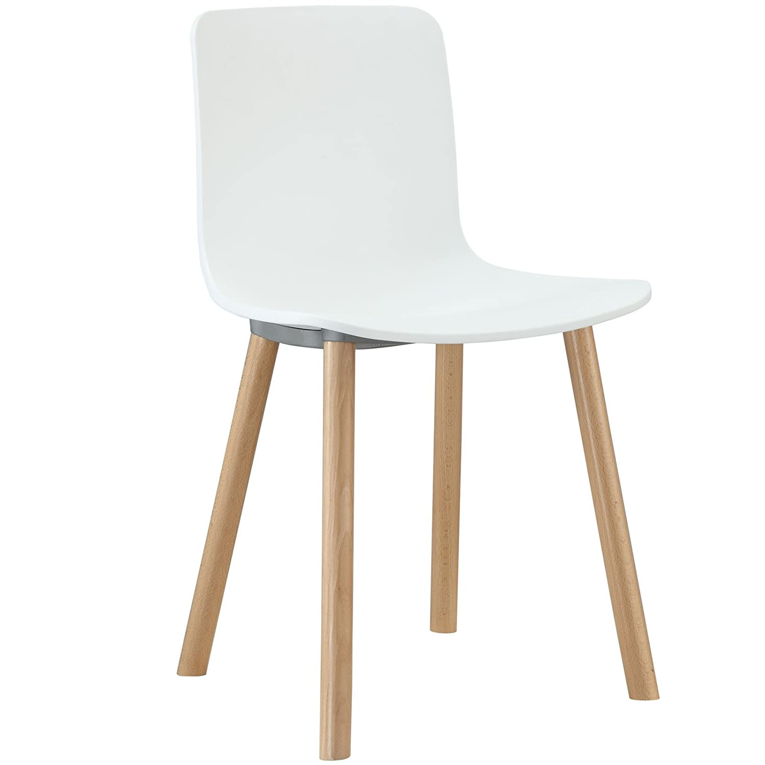 Amazon Modway Sprung Dining Side Chair in White Chairs